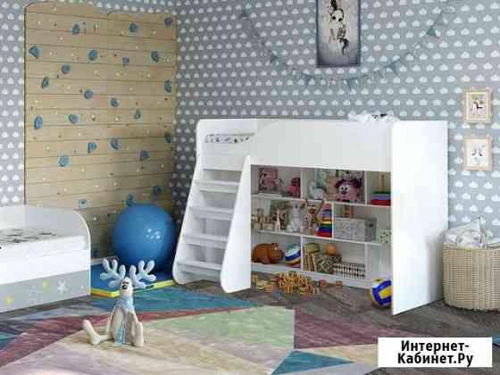 Кровать-чердак детская Трио Старый Оскол