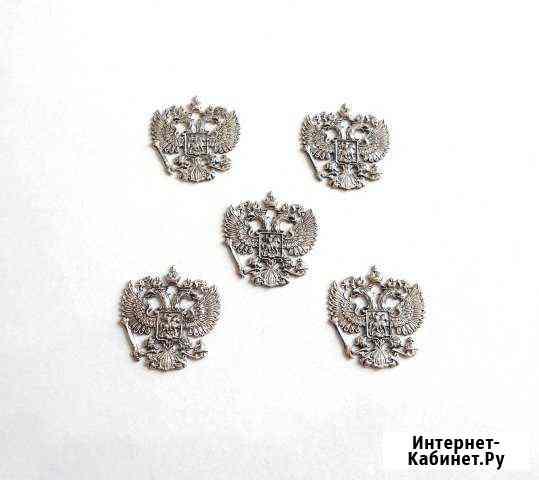 Герб россии (серебро), ювелирное литье Нижний Новгород
