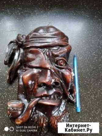 Гипсовая маска пирата СССР Углич