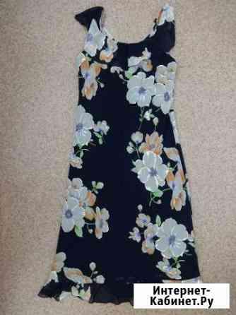 Платье-сарафан миди летнее с цветочным принтом Астрахань