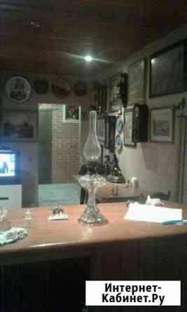 Старинная керосиновая лампа (стекло) Северская