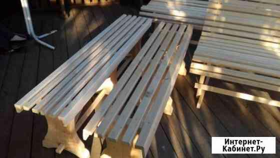 Скамейки и лавки для дачи и бани Череповец
