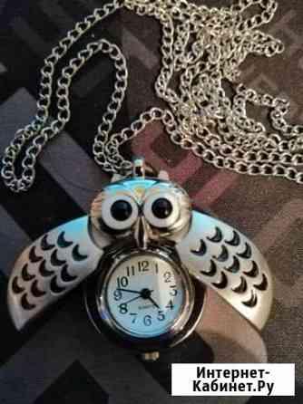 Часы кварцевые в виде совы Великий Новгород