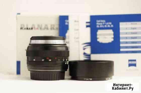 Zeiss 1.4/50 ZE для Canon 50mm f/1.4 как новый,UV Санкт-Петербург