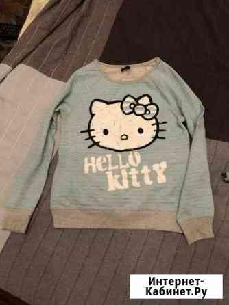 Кофта свитшот новый для девочки Hello Kitty оригин Санкт-Петербург