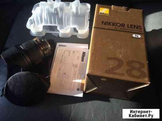 Объектив Nikon 28 1.8g Санкт-Петербург