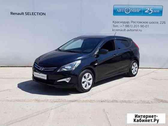Hyundai Solaris 1.4МТ, 2014, 103700км Краснодар