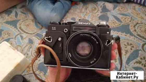 Плёночный фотоаппарат Зенит 11 + вспышка Волгоград