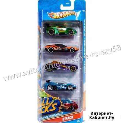 Машинки Hot Wheels 5 в 1 Пенза