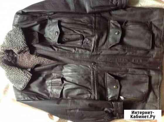 Мужская кожаная куртка Астрахань