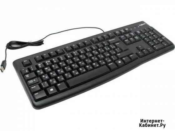 USB клавиатура logiteh classic + мышь logitech Самара