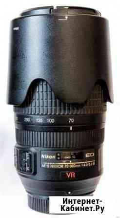 Объектив Nikon 70-300mm f4.5-5.6 ED VR Новосибирск