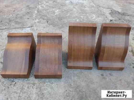 Ножки стола, опоры, массив дерева, новые, обмен Белгород