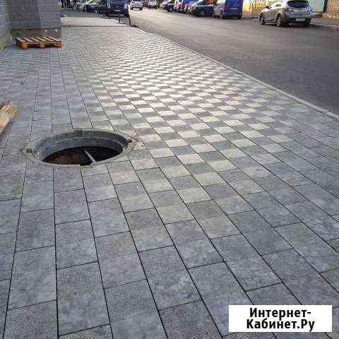 Тротуарная плитка Домино Махачкала
