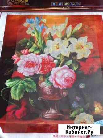 Набор для выкладывания алмазной мозаики Цветы Севастополь