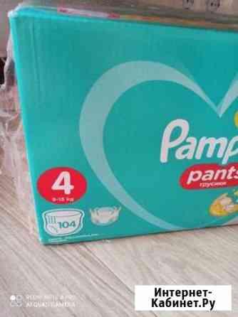 Новая коробка трусиков, pampers 104 штуки Санкт-Петербург