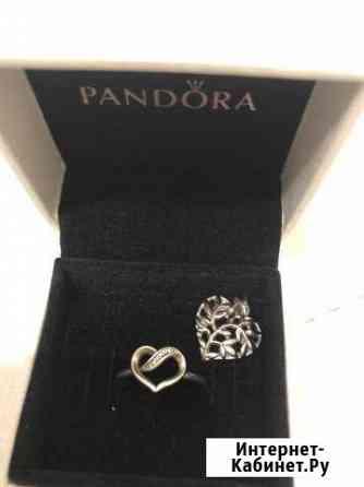 Pandora Кольцо 700, подвеска 300 Чайковский
