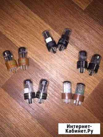 Подобранные пары радиоламп 6SN7/5692 sylvania (USA Санкт-Петербург