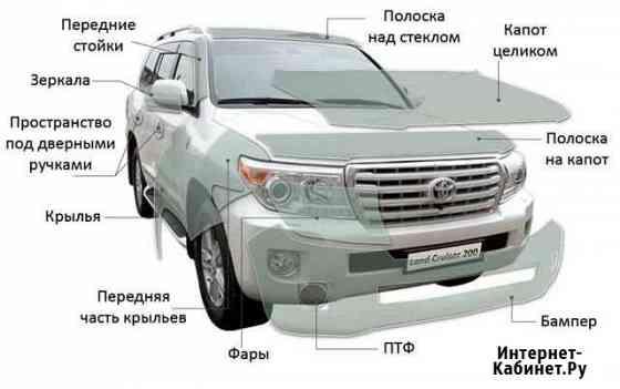 Бронирование кузова автомобиля Ярославль