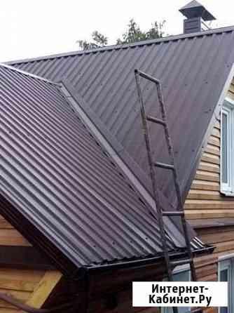 Кровельные работы, ремонт, строительство крыши Воронеж