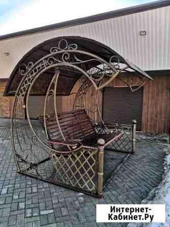 Художественная ковка. Ворота. Заборы. Качели Барнаул