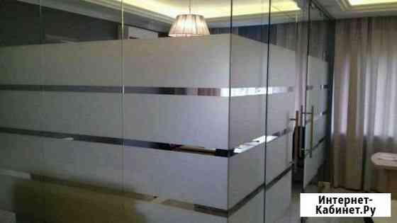 Тонировка окон, витрин, перегородок в офисах, фаса Йошкар-Ола