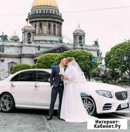 Аренда автомобиля Mercedes с водителем на свадьбу Санкт-Петербург