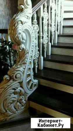 Производство лестниц из ценных пород дерева Черкесск