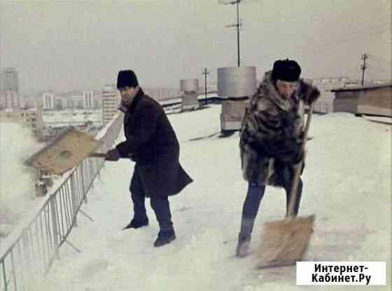 Уборка снега с крыши Ловозеро