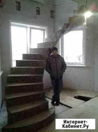 Бетонные монолитные лестницы Воронеж