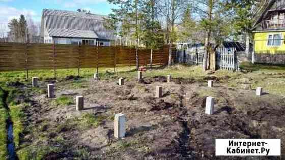 Забивной жб фундамент Северодвинск