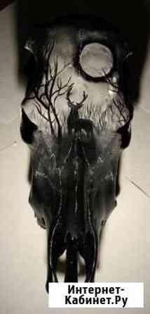 Роспись и гравировка черепов Сыктывкар