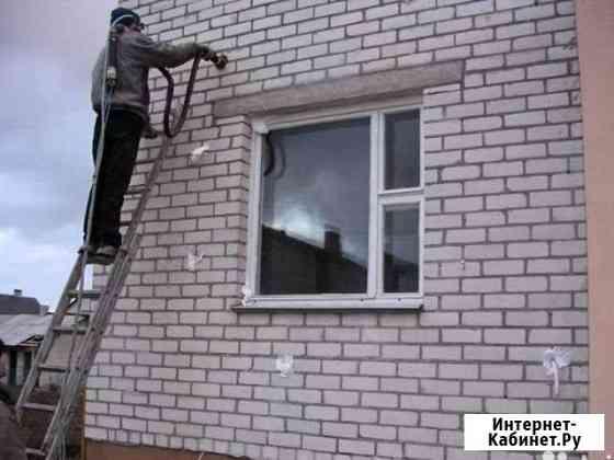 Утепление домов пеноизолом Погар