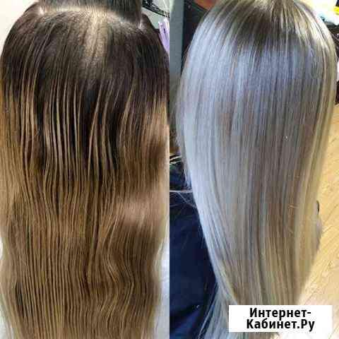 Окрашивание волос Рязань
