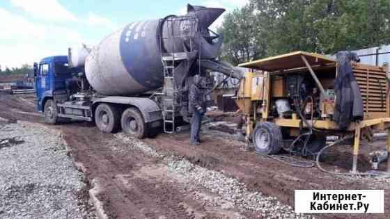Аренда стационарного насоса для бетона Пермь