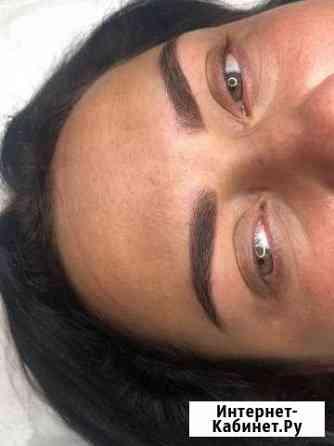 Перманентный макияж. Пудровое напыление бровей Воронеж