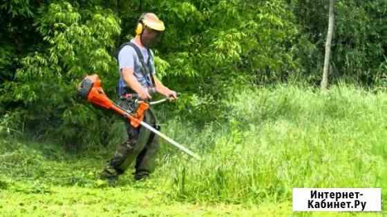 Покос травы и вывоз травы Элиста