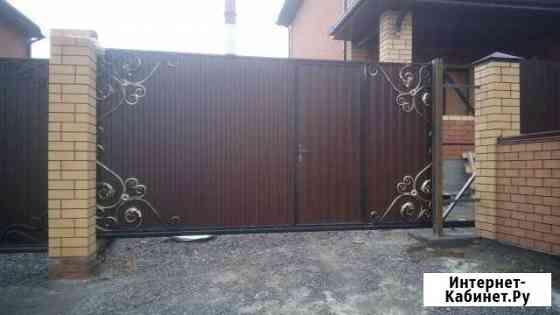 Откатные ворота Курск