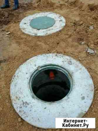 Наружная канализация септики Глинищево