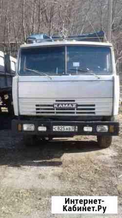 Камаз- сельхозник с прицепом Зеленчукская