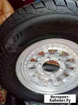 Продам колеса в сборе 235.75.15, 4 шт Хабаровск