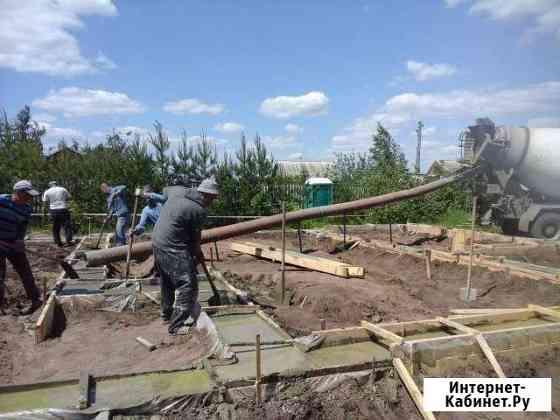 Бетон подача по трубе до 14 метров Воронеж