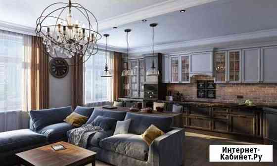 Дизайн интерьера квартиры, дома, офиса, 3D Москва