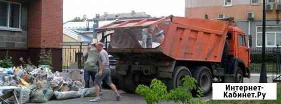 Вывоз мусора, грунта. Камаз+Bobcat. Любой объём Саратов