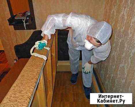 Дезинсекция, Уничтожение клопов и тараканов Ульяновск