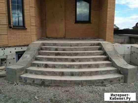 Крыльцо,ступень, лестницы бетон Белгород