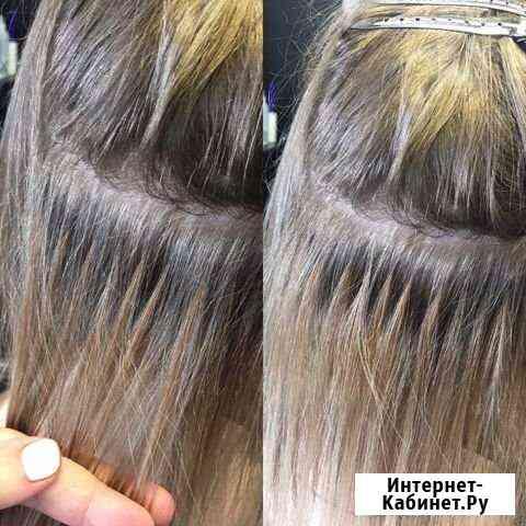 Наращивание волос, снятие, коррекция Екатеринбург