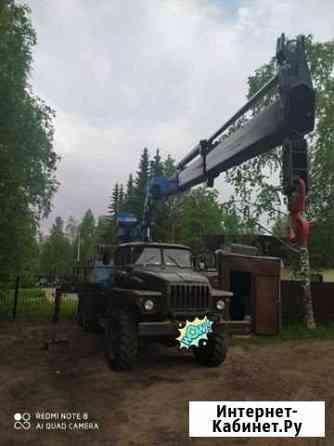 Урал с манипулятором Печора