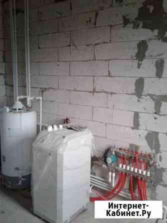 Отопление,тёпл.пол в частном доме, квартире Курск