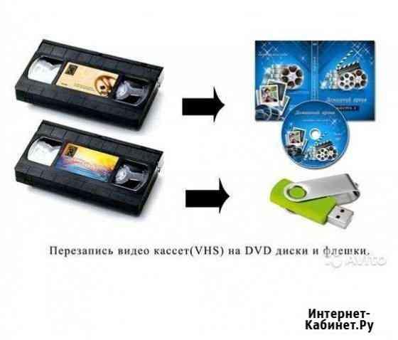 Оцифровка VHS на DVD Сызрань